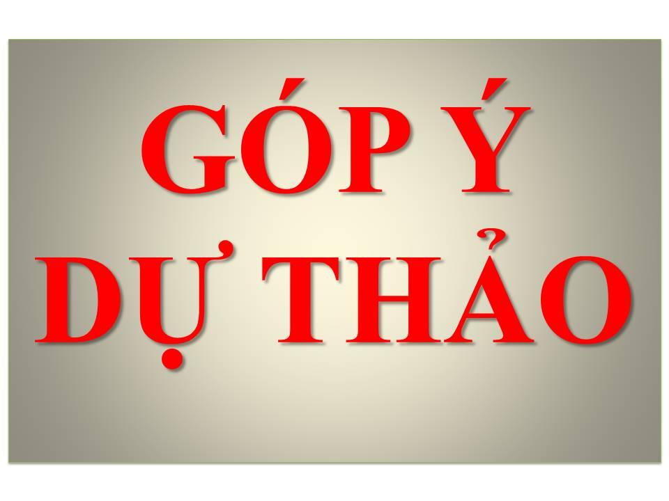 """Góp ý dự thảo xây dựng tiêu chuẩn Việt Nam """" """"Chuẩn bị mẫu, phân tích hàm lượng nước trong sản phẩm cá tra phi lê đông lạnh"""""""