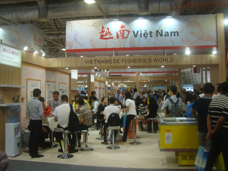 Hội chợ triển lãm thủy sản quốc tế Trung Quốclần V năm 2018 tại Trạm Giang (Trung Quốc) từ ngày 18 - 20/6/2018